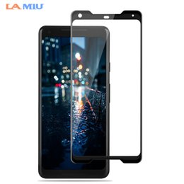 Wholesale Glasses La - LA MIU For Google Pixel 2 XL Screen Protector 9H Full Cover Film For Google Pixel 2 Tempered Glass 3D Curved Surface Edge