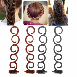 Beauty & Health Hair Bun Maker French Style Braid Twist Clip Hook Donut Updo Tool Womens Fashion F11.14 Year-End Bargain Sale