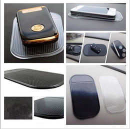 Wholesale Car Televisions - Anti Slip Mat Non Slip Car Dashboard Sticky Pad Mat Powerful Silica Gel Magic Car Sticky Pad
