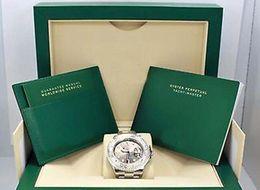 2019 relógios de pulso de platina Relógio de pulso de luxo caixa original certificate116622 Mens Steel Platinum Ródio Dial Baby Blue Mão 40 MM Homens Mecânicos Relógios de Qualidade Superior relógios de pulso de platina barato