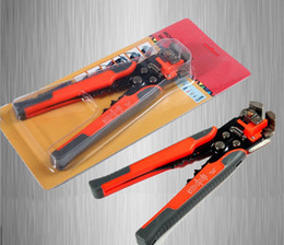 Wholesale Wire Strippers Crimper - Cable Wire Stripper Cutter Crimper Automatic Multifunctional TAB Terminal Crimping Stripping Plier Tools FI-026