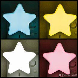 2019 ночная жизнь Энергосберегающие светодиодные теплый яркий пятиконечная звезда форма ночника Безопасный долгой жизни умный стиль милый дизайн фонарь мода 2cz B скидка ночная жизнь