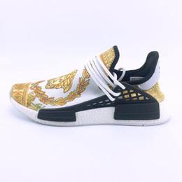 B cream en Ligne-Envoyer avec Box 2019 NOUVEAU pharrell williams race humaine Pack solaire femmes chaussures de course Sport Holi Cream Trail