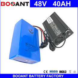 Canada BOOANT E-Bike Li-ion Batterie Pour Bafang 1800W Moteur 48V 40AH Scooter Bike Pack batterie 48V EU US Free Customs Avec 5A Chargeur cheap e scooter battery charger Offre