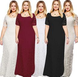 9ef22c17d1 2019 vestidos de cóctel de encaje beige Vestido largo de encaje de manga  corta de cintura