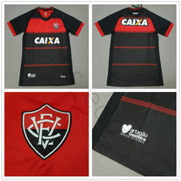 custom black football jerseys Promo Codes - 2018 2019 Vitoria Esporte Clube  Soccer Jersey Neilton Arouca faa5eb308