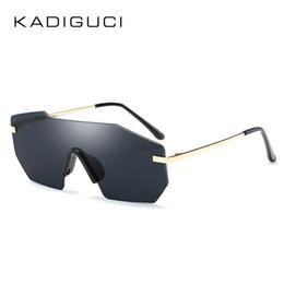 Kadiguci do vintage da moda sem aro espelhado óculos de sol das mulheres  dos homens de metal retro estilo preto rosa tons de prata óculos de sol  uv400 k0280 62c745fa6b