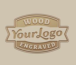 2019 holzuhr-logo Ihr Logo ist Willkommen Logo Custom Gravur auf Bambus Holz Uhren Holz Box Laser Gravieren Gebühr OEM / ODM rabatt holzuhr-logo