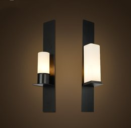 Wholesale Iron Candle Wall - r Timmeren and Ekster wall sconce replica Kevin Reilly candle lamp vintage frosted glass light iron wall lighting LLFA