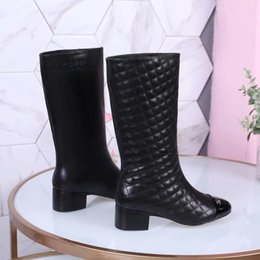 ec18914e6328 Knee High Flat Womens Boots Color Long Booties Female Fashion Brand Leather  Womens Boot Women Shoes New Arrival Free Shipping Fashion womens high heel  long ...