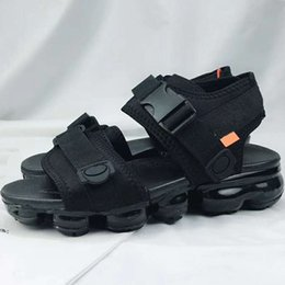 Wholesale sport med - New Vapormx Beach Sandals Summer Beach Sandals Outdoor Sports Waterproof Men's Casual Shoes US Size 7-11