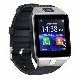 Wholesale record iphone calls - DZ09 Smart Watch GT08 U8 A1 Wrisbrand Android iPhone iwatch Smart SIM Intelligent mobile phone watch can record the sleep state Smart iwatch