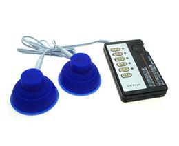 Canada Kits de choc électrique, renforceur de clitoris / mamelon de pompe à ventouse d'électrode d'adsorption de silicone, masseur, jouets électroniques, adultes supplier adult toys breast silicone Offre