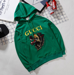 Wholesale free dragonfly - Free freight Fashion Brand fear of god skateboard Dragonfly embroidery outdoor sport hoodie justin bieber Classic hip hop Lovers Hoodie
