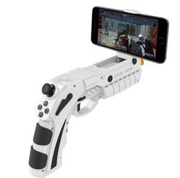 Wholesale Game Gun - iPEGA PG-9082 Game Controller AR Gaming Gun For iPhone Wireless Bluetooth Gamepad for Android   IOS Smart Phone Tablet PC Tv Box