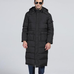 Wholesale Mens Waterproof Parka Jackets - Brand New Top Fashion New Mens Winter Warm Coats Hooded Long Parkas Duck Down Jackets Waterproof Overcoats Plus Size Male 3xl