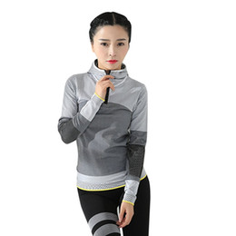 daily hats Coupons - Women Long Sleeve T-Shirts Sports Long Sleeve Tops with Hat Lady Clothing All Matching Daily Sport Fashion Shirt