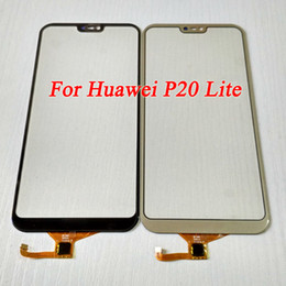 parts for huawei Promo Codes - Hot For Huawei P20 Lite Outer Glass Lens with Digitizer Replacement Parts For Huawei P20 Lite Touch screen Front Glass With Tools