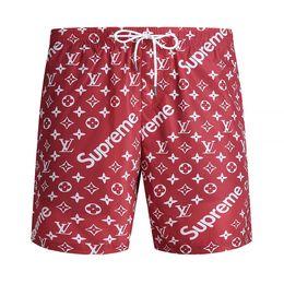 Wholesale Mens Summer Swim Shorts - New Board Shorts Mens Summer Beach Shorts Pants High-quality Swimwear Bermuda Male Letter Surf Life Men Swim