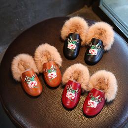 851079f190f6 Vieeolove niñas niños botas de piel botas de flores 2018 nuevo otoño  invierno vestido de princesa Roma estrellas sandalias ocasionales botas  zapatos VL-1671