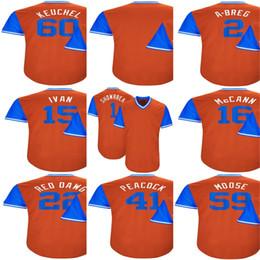 Wholesale Peacock Mens - Mens Houston 1 Carlos Correa 2 Alex Bregman 41 Brad Peacock 16 Brian McCann 15 Carlos Beltran Orange 2017 Players Weekend Baseball Jerseys