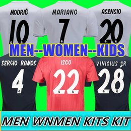 Thailand Champion league Jerseys MARIANO Real madrid 2019 ISCO soccer  jerseys MODRIC football Kit shirt 18 19 MEN WOMEN KIDS camisetas ccc6ac80b