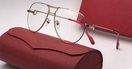 Runde verschriebenen brillen männer online-Luxus 100072 Brillen Prescription Brillen Vintage Runde Rahmen aus Holz Männer Designer Brillen mit Original-Fall Retro-Design Gold überzogen