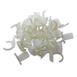 Deutschland HHFF UPPERX 50 stücke Blank Nagellack UV Gel Display Ringe Pops Nail art Ring Stil Tipps (weiß) supplier nail tip art display pops Versorgung