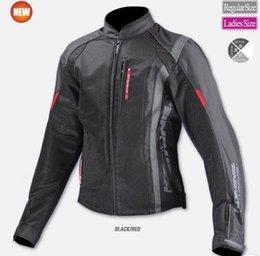 motocicleta equitación trajes hombres Rebajas Rock biker Auténtico traje de montar en motocicleta para hombres y mujeres, estilo anti-caída, traje de carreras, montar chaqueta