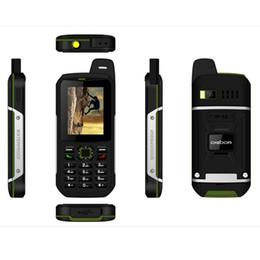 Wholesale Android Sound Card - Original Digoor DG22 Waterproof Shockproof Phone Perfect Sound Big Speaker IP68 Three Sim FM Radio 3200 mAh A8 V9 Rugged Netcom Phone
