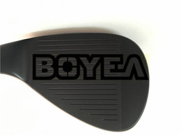 Wholesale 54 wedge - BOYEA Golf Clubs SM7 Wedges Black SM7 Golf Wedges 48 50 52 54 56 58 60 62 Wedge Flex Steel Shaft With Cover