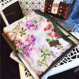 Wholesale star couple rings - 2018 fashion style Muslim scarf Female Ladies Satin Silk Star square scarf couples all-match autumn and spring Scarf 90*180cm