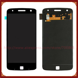 2019 lcd samsung e5 Display LCD + Touch Screen Digitizer Assembly Per Moto Z Gioca Droid XT1635 Spedizione gratuita