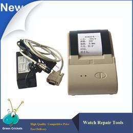 stampanti di prova Sconti Timegrapher Printer per MGT-2000.MTG-3000, MTG-5000 Seris Watch Timing e test Timegrapher