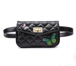 Женщины талии сумка Buerfly вышитые пояс сумка высокого качества искусственная кожа Fanny Pack хип Bum для женщин сотовый телефон кошелек celula от
