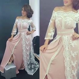 сексуальная традиционная одежда Скидка Традиционная Саудовская Аравия кафтан вечерние платья рукав сексуальный с плеча Марокканский Пром вечерние платья мода стиль платья вечерняя одежда
