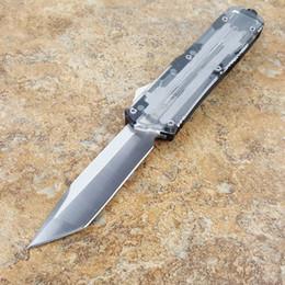2019 cuchillos de escarabajo Theone Scarab transparente doble acción táctica autodefensa plegable edc cuchillo camping cuchillo caza cuchillos regalo de navidad Adul rebajas cuchillos de escarabajo