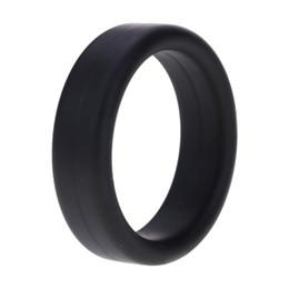 2019 mikrofone kinder großhandel Silikon Penis Cockring Verzögerung Ejakulation Erwachsene Produkte Donut Loop Ring Aufenthalt