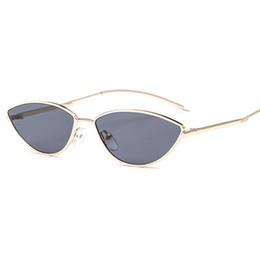 moda óculos mulheres cor Desconto Mulheres cat eye sunglasses moda óculos mulheres cor correspondente pequeno óculos de armação de óculos de marca designer de óculos de sol oculos uv400 y286