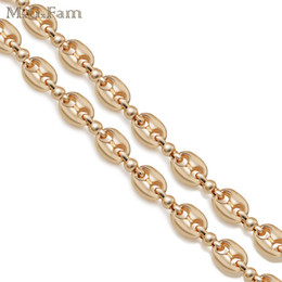 Wholesale global day - (251N) Coffee Beans Necklaces Jewelry 53cm for MEN 18k Gold Plated Global Sale Jewelry Fashion Lead and Nickel Free