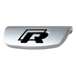 Volkswagen golf r online-Etiqueta engomada del volante de metal R Rline Emblema para VW Volkswagen 2017 Jetta Touran Golf 7 GTI MK7 Passat B8 Accesorios Car Styling