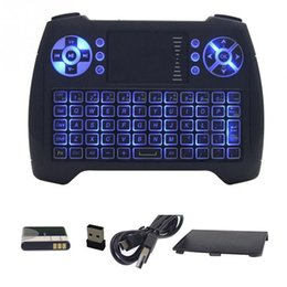 Wholesale Gaming Mouse Sale - 2018 New Arrivials Plactical Mini Gaming Keyboard Mouse 2.4GHz For PC TV PS3 Backlit T16 Hot Sale