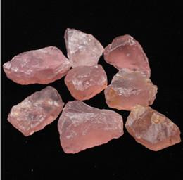 50 G Natural Rosa Crua Rosa de Cristal De Quartzo Pedra Specimen Cura cristal amor pedras naturais e minerais tanque de peixes de pedra de
