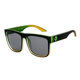 Orange rechteck online-Sport UV Sonnenbrille Männer Markendesigner Frauen sonnenbrille Reflektierende Beschichtung Quadrat Spion Männer Rechteck Eyewear Oculos De Sol