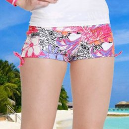 Wholesale Wetsuit Swimsuit - 2017 Swimwear Women Shorts Swimsuit Wetsuit for swimming Trunks Snorkel Surfing Diving Suit Bodysuit Boxer Beach Shorts Print