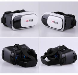 """Giochi virtuali online-Casella virtuale VR per occhiali 3D VR Box 2.0 per realtà virtuale da 3,5-6 """"Video / esperienza di gioco per smartphone"""