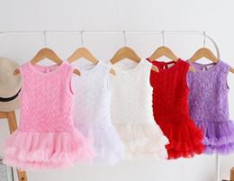 Yeni Doğan Bebek Elbise Moda Bebek Rompers kızlar Tutu Elbise Yaz Çocuklar Bebek Giysileri Bebek Kız Tulum nereden yeni doğmuş bebek kıyafetleri tedarikçiler