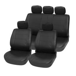Wholesale Universal Leather Car Seat Covers - Car Seat Covers 11pcs PU Leather Car Seat Cover Set Four Seasons Universal Auto Cushion Interior Accessories Waterproof Anti-Dust Auto