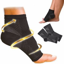 Wholesale knee sleeve sock - Wholesale- NEW Foot Angel Compression 1~4 SLEEVE Plantar Fasciitis Anti Fatigue (S M L XL)