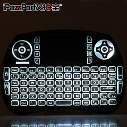 2019 rii i8 bluetooth MINI Rii i8 Tastatur Wireless Flying Mouse 2.4G Wireless Bluetooth Tastatur Hintergrundbeleuchtung Mobile Tablet i8 Touch rabatt rii i8 bluetooth